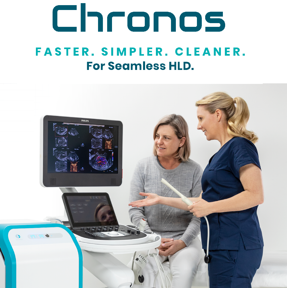 Chronos Faster Simpler Cleaner for Seamless HLD Improves Patient Care